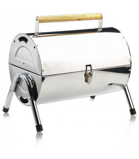 Barbecue Inox transportable