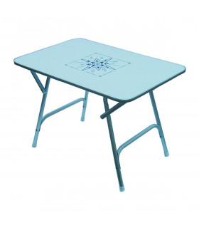 Table Pliante en Aluminium Satiné GM