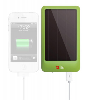 Chargeur solaire USB + lampe